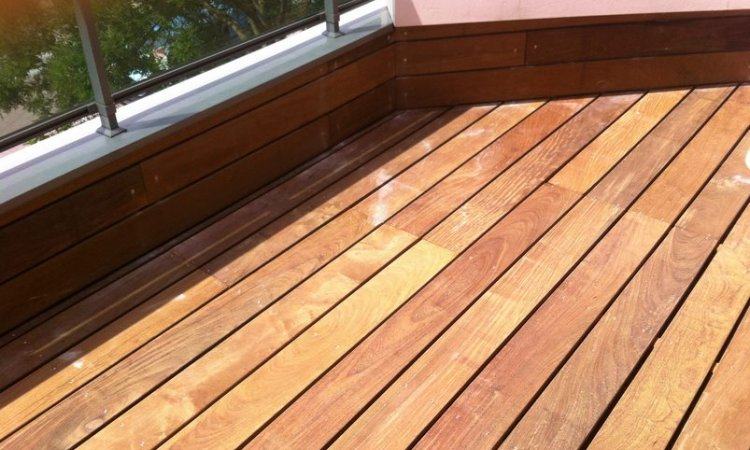 ACME Rénovation Parquet Artisan parqueteur à Lyon - Terrasse en bois